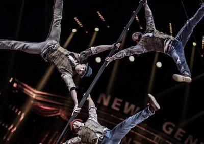Chinese Pole Performance